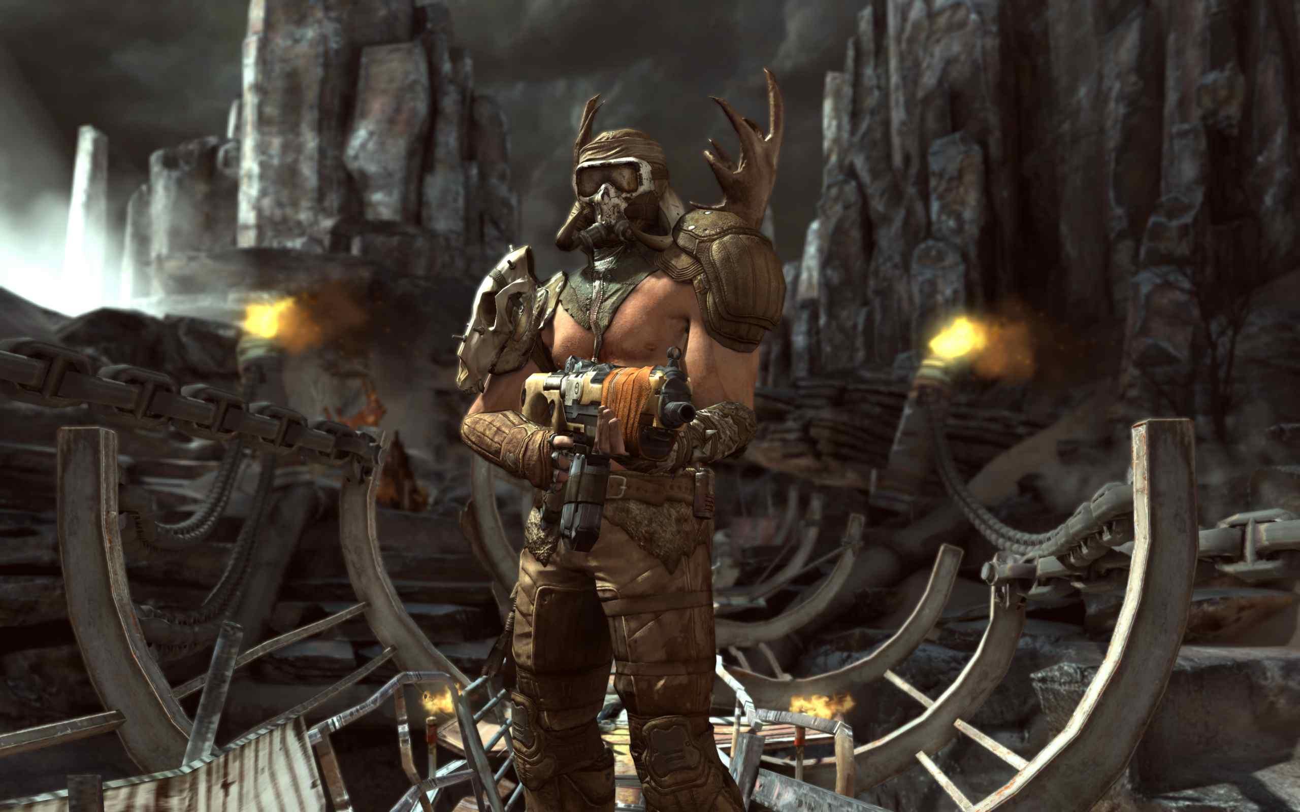 Rage: serviva id Tech 5 per rendere tattico DooM 3 | Pagina