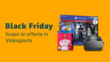 Amazon Black Friday: forti sconti su PlayStation (PS4 Pro, PS4, DualShock) e su Xbox (One, S e X). Eccoli