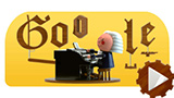 Google celebra Bach con il primo Doodle con l'Intelligenza Artificiale. Ecco il video