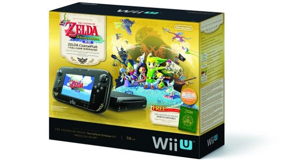 Wii U bundle Zelda Wind Waker HD