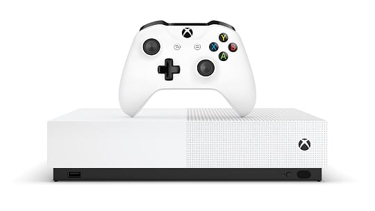 Xbox One S All-Digital Edition disponibile da oggi