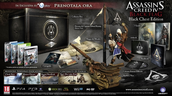 Collector's Edition di Assassin's Creed IV Black Flag