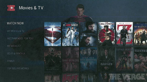 Android TV, leak The Verge