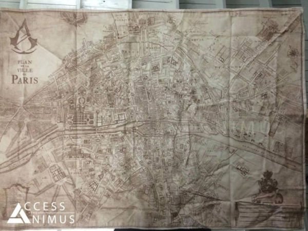 Assassin's Creed Unity Map