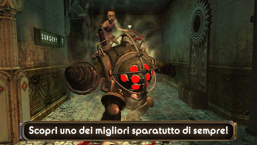 Bioshock per iPhone e iPad, iOS