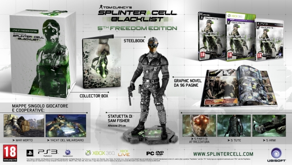Splinter Cell Blacklist 5th Freedom Edition