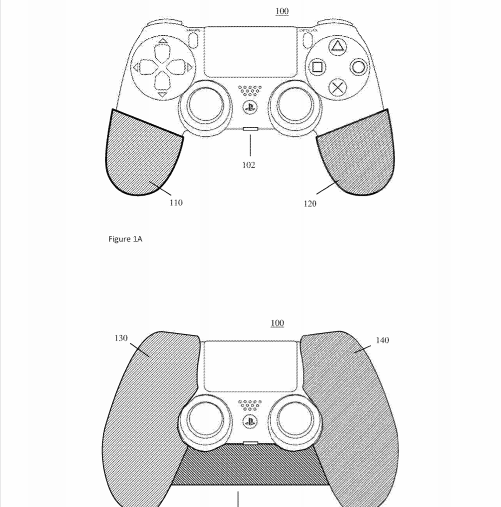 PlayStation DualShock brevetto