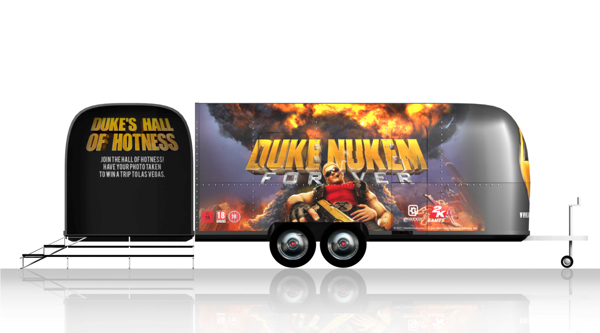 'Come Get Some Tour!' di Duke Nukem Forever
