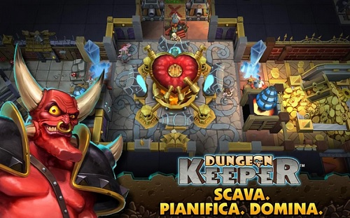 Dungeon Keeper, iOS e Android