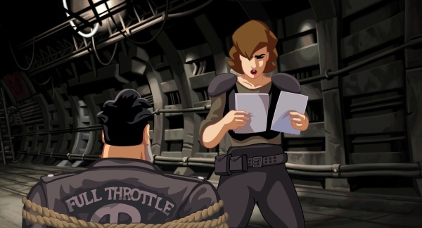 Full Throttle Remastered: ecco il debut trailer