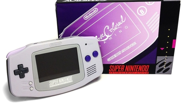 Game Boy Advance a tema Super Nintendo