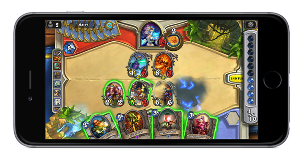 Hearthstorm: Heroes of Warcraft su iPhone