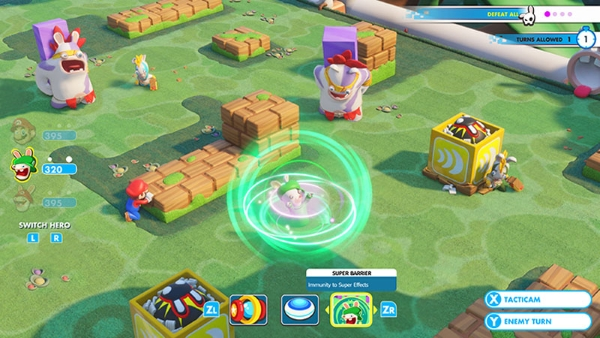 Mario + Rabbids: Kingdom Battle in voti