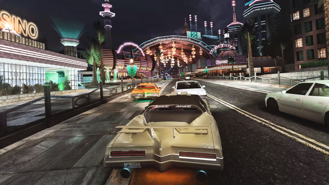 Need for Speed Underground 2 Ray Tracing