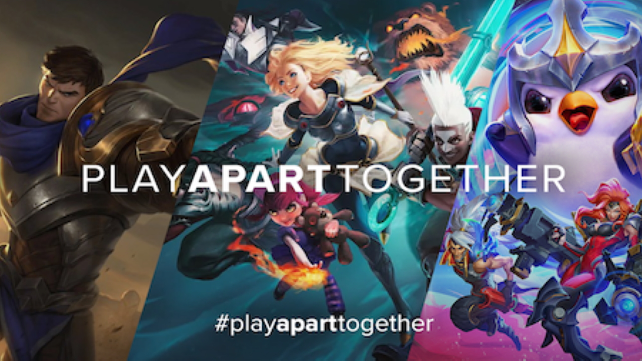 #PlayApartTogether