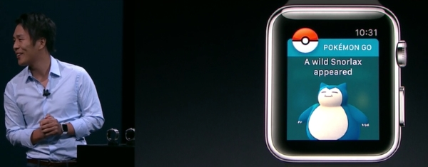 Pokemon Go per Apple Watch