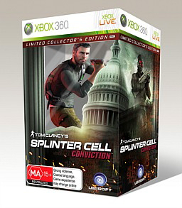 Spliter Cell Conviction Collector's Edition