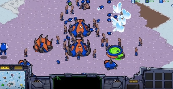StarCraft: Cartooned