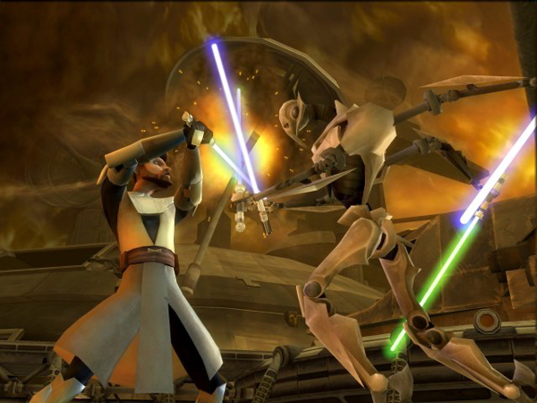 Star Wars The Clone Wars: Lightsaber Duel