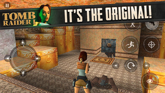 Tomb Raider, iOS