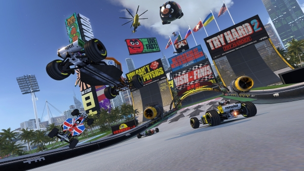 Trackmania Turbo Virtual Reality disponibile per PSVR, OCULUS RIFT e HTC VIVE