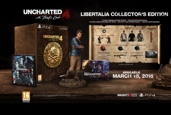 Unchated 4 Fine di un Ladro Libertalia Collector's Edition
