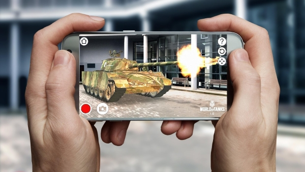 World of Tanks AR Experience