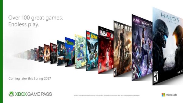 Xbox Game Pass avrà