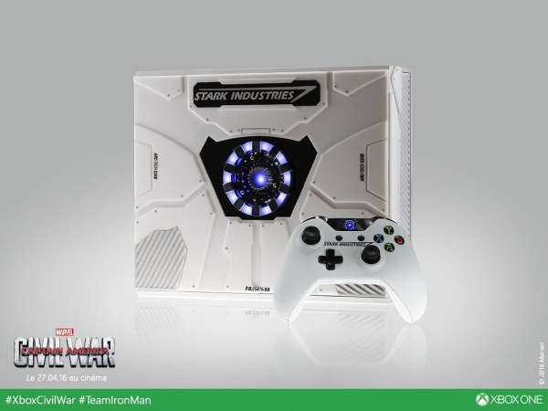 Xbox One a tema Iron Man